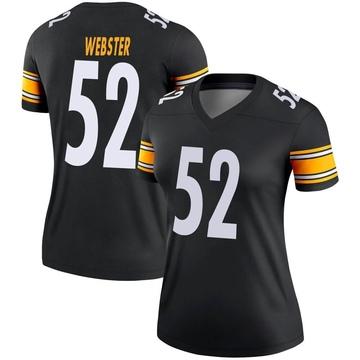 Women's Nike Pittsburgh Steelers Mike Webster Black Jersey - Legend