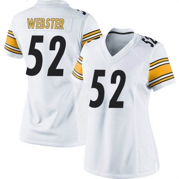 Women's Nike Pittsburgh Steelers Mike Webster White Jersey - Game