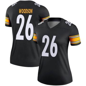 Women's Nike Pittsburgh Steelers Rod Woodson Black Jersey - Legend