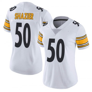 Women's Nike Pittsburgh Steelers Ryan Shazier White Vapor Untouchable Jersey - Limited
