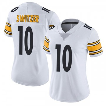 Women's Nike Pittsburgh Steelers Ryan Switzer White Vapor Untouchable Jersey - Limited