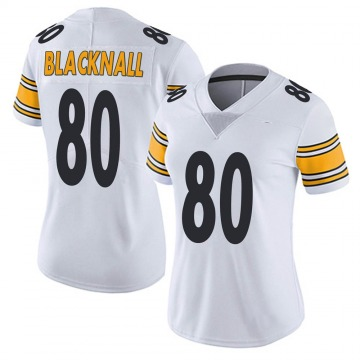 Women's Nike Pittsburgh Steelers Saeed Blacknall White Vapor Untouchable Jersey - Limited