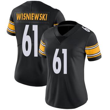 Women's Nike Pittsburgh Steelers Stefen Wisniewski Black Team Color Vapor Untouchable Jersey - Limited