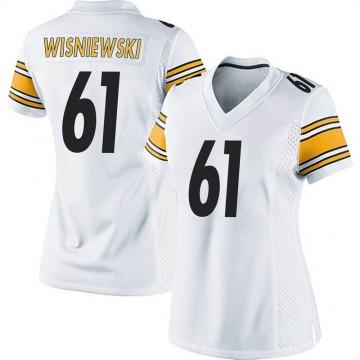 Women's Nike Pittsburgh Steelers Stefen Wisniewski White Jersey - Game