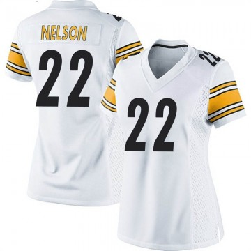 Women's Nike Pittsburgh Steelers Steven Nelson White Jersey - Game