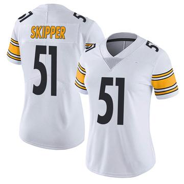 Women's Nike Pittsburgh Steelers Tuzar Skipper White Vapor Untouchable Jersey - Limited