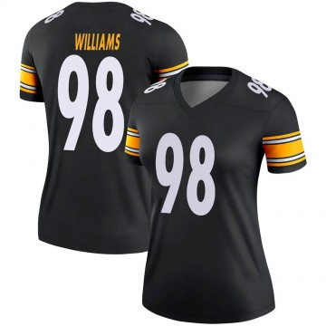 Women's Nike Pittsburgh Steelers Vince Williams Black Jersey - Legend
