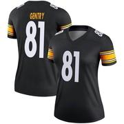 Women's Nike Pittsburgh Steelers Zach Gentry Black Jersey - Legend