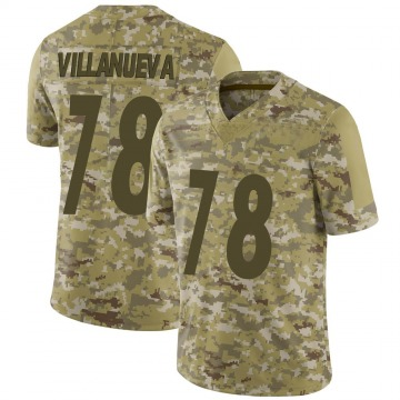 Youth Nike Pittsburgh Steelers Alejandro Villanueva Camo 2018 Salute to Service Jersey - Limited