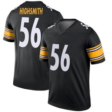 Youth Nike Pittsburgh Steelers Alex Highsmith Black Jersey - Legend
