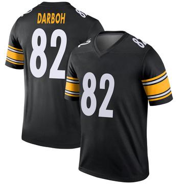 Youth Nike Pittsburgh Steelers Amara Darboh Black Jersey - Legend