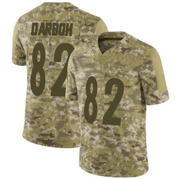 Youth Nike Pittsburgh Steelers Amara Darboh Camo 2018 Salute to Service Jersey - Limited