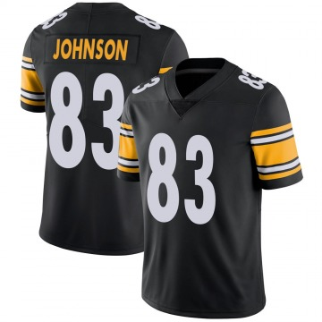 Youth Nike Pittsburgh Steelers Anthony Johnson Black 100th Vapor Jersey - Limited