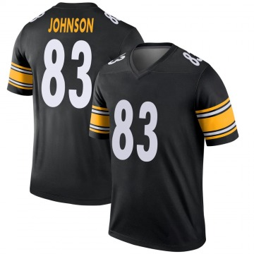 Youth Nike Pittsburgh Steelers Anthony Johnson Black Jersey - Legend