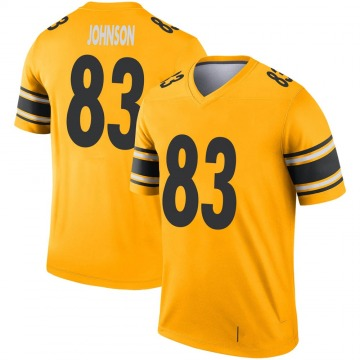 Youth Nike Pittsburgh Steelers Anthony Johnson Gold Inverted Jersey - Legend