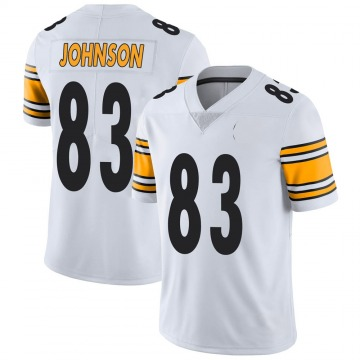 Youth Nike Pittsburgh Steelers Anthony Johnson White Vapor Untouchable Jersey - Limited