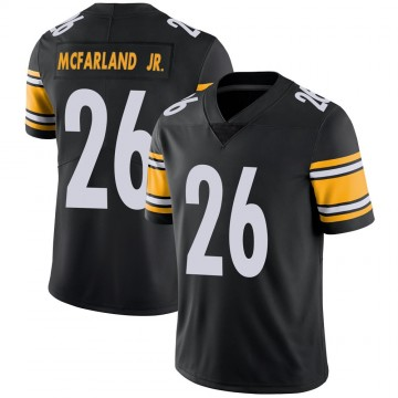 Youth Nike Pittsburgh Steelers Anthony McFarland Jr. Black Team Color Vapor Untouchable Jersey - Limited