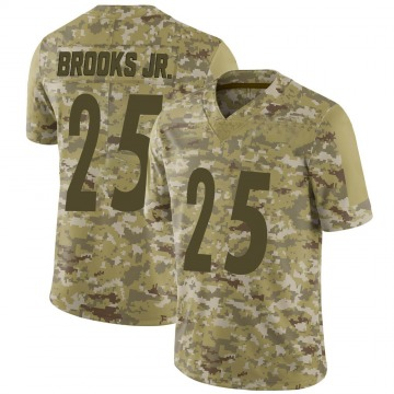 Youth Nike Pittsburgh Steelers Antoine Brooks Jr. Camo 2018 Salute to Service Jersey - Limited