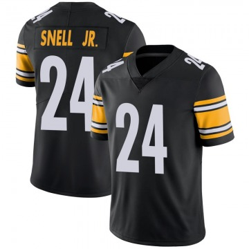 Youth Nike Pittsburgh Steelers Benny Snell Jr. Black 100th Vapor Jersey - Limited