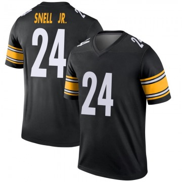 Youth Nike Pittsburgh Steelers Benny Snell Jr. Black Jersey - Legend