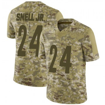 Youth Nike Pittsburgh Steelers Benny Snell Jr. Camo 2018 Salute to Service Jersey - Limited