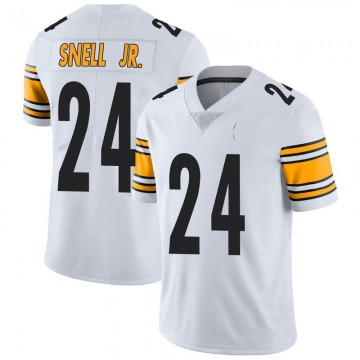 Youth Nike Pittsburgh Steelers Benny Snell Jr. White Vapor Untouchable Jersey - Limited