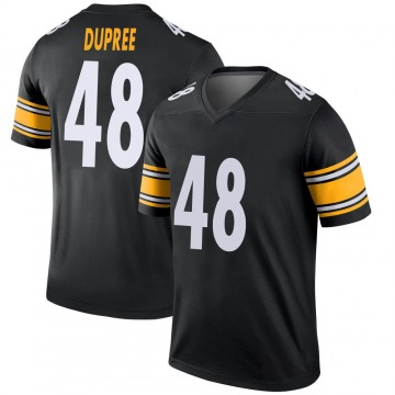 Youth Nike Pittsburgh Steelers Bud Dupree Black Jersey - Legend