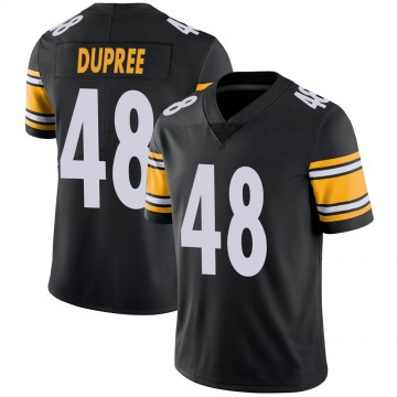 Youth Nike Pittsburgh Steelers Bud Dupree Black Team Color Vapor Untouchable Jersey - Limited