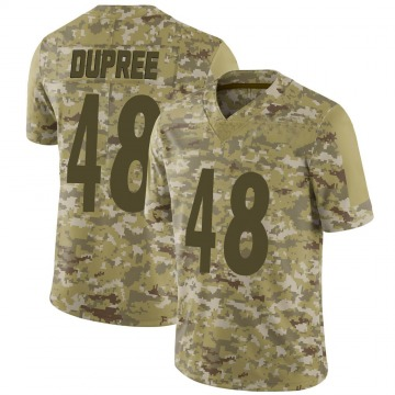 Youth Nike Pittsburgh Steelers Bud Dupree Camo 2018 Salute to Service Jersey - Limited