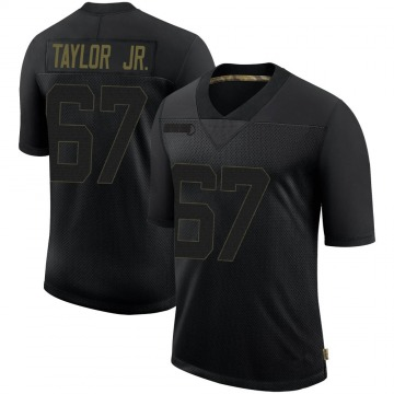 Youth Nike Pittsburgh Steelers Calvin Taylor Jr. Black 2020 Salute To Service Jersey - Limited