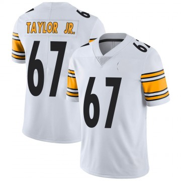 Youth Nike Pittsburgh Steelers Calvin Taylor Jr. White Vapor Untouchable Jersey - Limited
