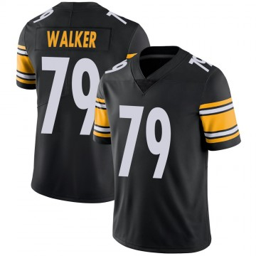Youth Nike Pittsburgh Steelers Cavon Walker Black Team Color Vapor Untouchable Jersey - Limited