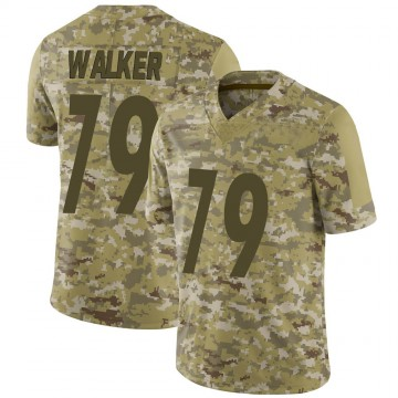 Youth Nike Pittsburgh Steelers Cavon Walker Camo 2018 Salute to Service Jersey - Limited