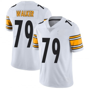 Youth Nike Pittsburgh Steelers Cavon Walker White Vapor Untouchable Jersey - Limited