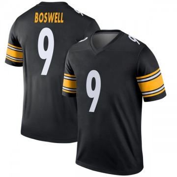 Youth Nike Pittsburgh Steelers Chris Boswell Black Jersey - Legend