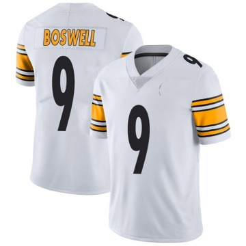 Youth Nike Pittsburgh Steelers Chris Boswell White Vapor Untouchable Jersey - Limited