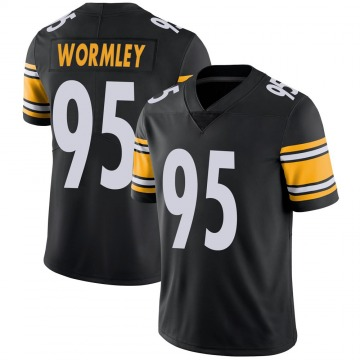 Youth Nike Pittsburgh Steelers Chris Wormley Black 100th Vapor Jersey - Limited