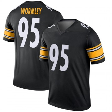Youth Nike Pittsburgh Steelers Chris Wormley Black Jersey - Legend