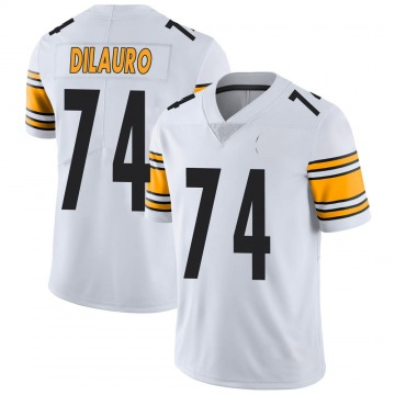 Youth Nike Pittsburgh Steelers Christian DiLauro White Vapor Untouchable Jersey - Limited