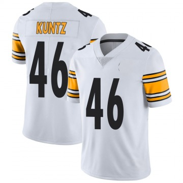 Youth Nike Pittsburgh Steelers Christian Kuntz White Vapor Untouchable Jersey - Limited