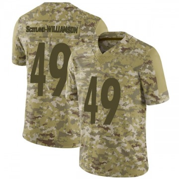 Youth Nike Pittsburgh Steelers Christian Scotland-Williamson Camo 2018 Salute to Service Jersey - Limited