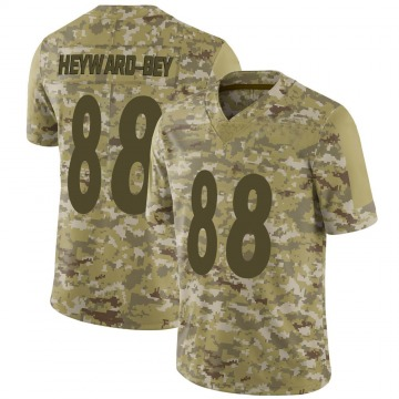 Youth Nike Pittsburgh Steelers Darrius Heyward-Bey Camo 2018 Salute to Service Jersey - Limited