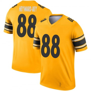 Youth Nike Pittsburgh Steelers Darrius Heyward-Bey Gold Inverted Jersey - Legend