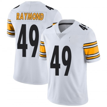 Youth Nike Pittsburgh Steelers Dax Raymond White Vapor Untouchable Jersey - Limited