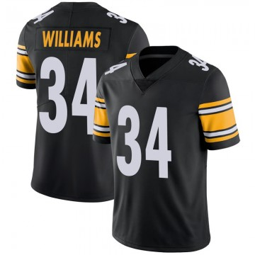 Youth Nike Pittsburgh Steelers DeAngelo Williams Black 100th Vapor Jersey - Limited