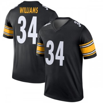 Youth Nike Pittsburgh Steelers DeAngelo Williams Black Jersey - Legend