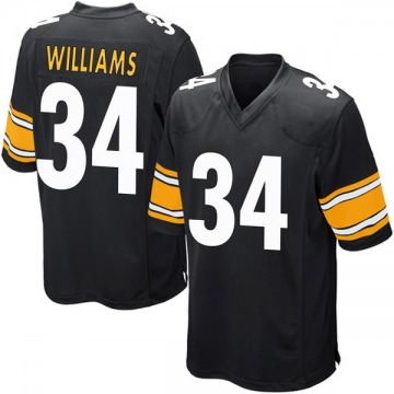 Youth Nike Pittsburgh Steelers DeAngelo Williams Black Team Color Jersey - Game