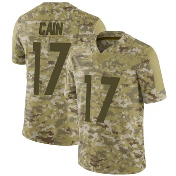 Youth Nike Pittsburgh Steelers Deon Cain Camo 2018 Salute to Service Jersey - Limited