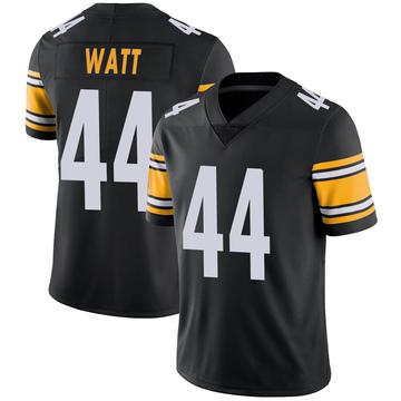 Youth Nike Pittsburgh Steelers Derek Watt Black 100th Vapor Jersey - Limited