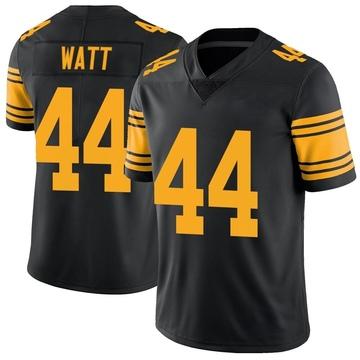 Youth Nike Pittsburgh Steelers Derek Watt Black Color Rush Jersey - Limited